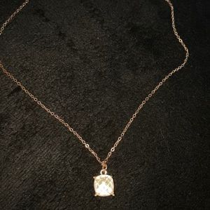 Light Pink Sparkly Necklace